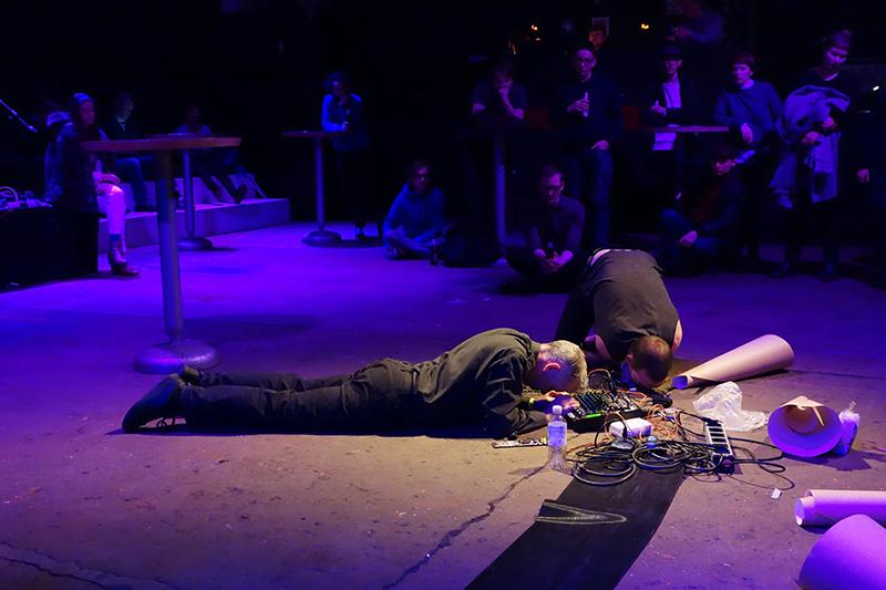 Dirty Electronics & Max Wainwright